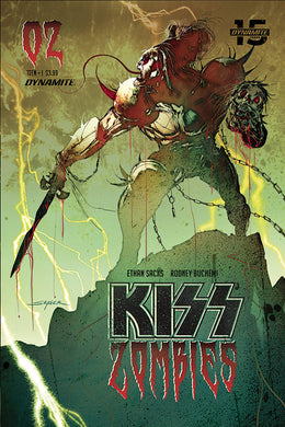 Kiss Zombies #2, Cover B Comic