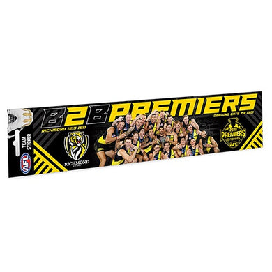 Back to Back Richmond Tigers 2020 AFL Premiers Team Bumper Sticker