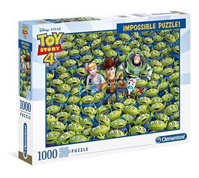 Clementoni Puzzle Disney Toy Story 4 Impossible Puzzle 1000 pieces