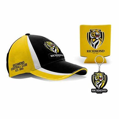 Richmond Tigers Cap, Can Cooler & Keyring Gift Box