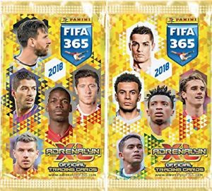 2018 Panini Adrenalyn XL Trading Card Pack