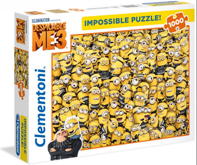 Clementoni Puzzle Despicable Me Impossible Puzzle 1000 pieces