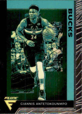 Giannis Antetokounmpo, Flux, 2019-20 Panini Chronicles NBA Basketball