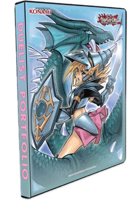 Yu-Gi-Oh! - Dark Magician Girl the Dragon Knight 9-Pocket Portfolio