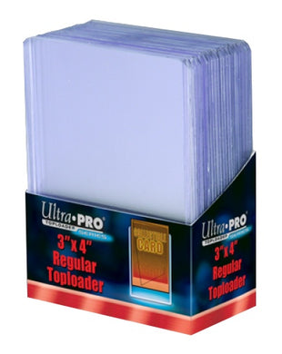 ULTRA PRO Top Loader - 3 x 4 35pt Regular Clear