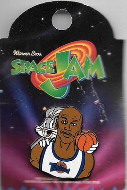Michael Jordan Space Jam Badge