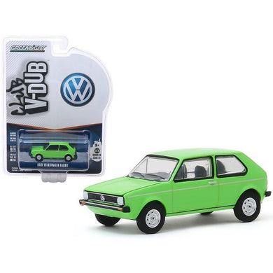 1975 Volkswagen Rabbit, Club V-DUB, 1:64 Diecast Vehicle