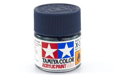 TAMIYA ACRYLIC MINI X-3 ROYAL BLUE 10ml