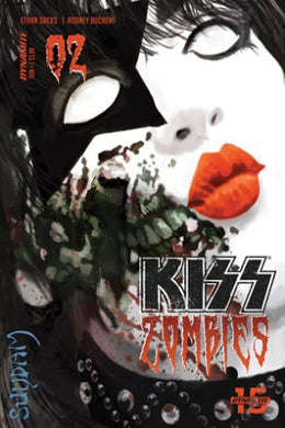 Kiss Zombies #2, Cover A Comic