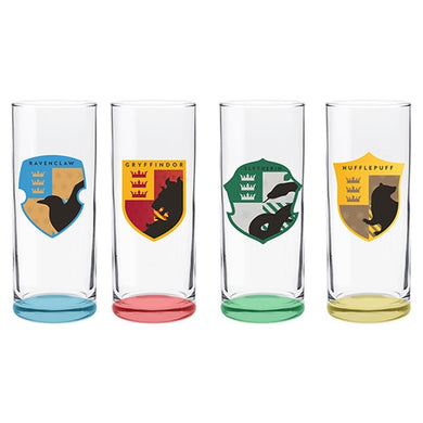 HARRY POTTER SET OF 4 HIGHBALL GLASSES