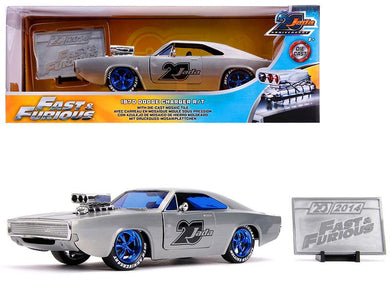 Fast & Furious - 1970 Dodge Charger, 20th Anniversary, 1:24 Scale Diecast Hollywood Ride