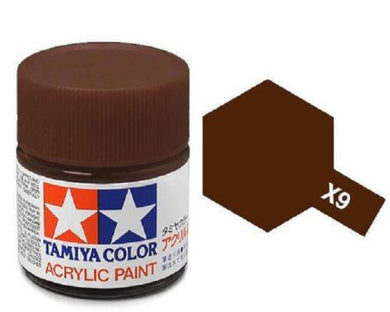 TAMIYA ACRYLIC MINI X-9 BROWN 10ml