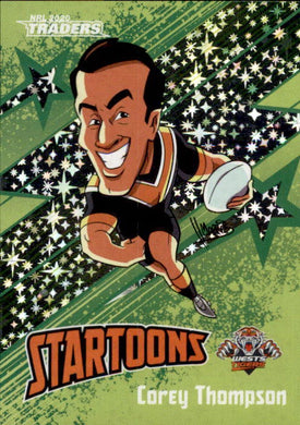 Corey Thompson, Green Startoons, 2020 TLA Traders NRL