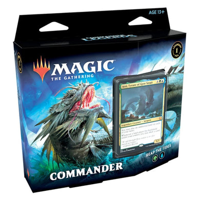REAP THE TIDES - MAGIC: THE GATHERING Commander Legends- Commander Decks