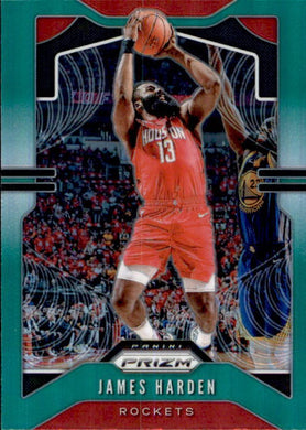 James Harden, 2019-20 Prizm Basketball GREEN Refractor