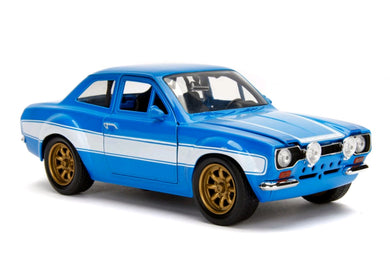Fast and Furious - Ford Escort RS2000 MK1, 1:24 Diecast Vehicle
