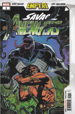 EMPYRE Savage Avengers #1 Comic
