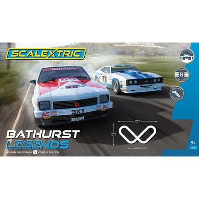 SCALEXTRIC BATHURST LEGENDS - Torana A9X, XC Falcon