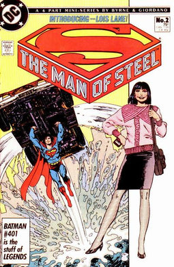 Superman The Man of Steel, Mini Series #2 Comic