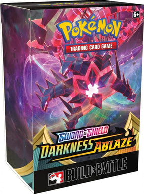 POKÉMON TCG Sword and Shield- Darkness Ablaze Build & Battle Box