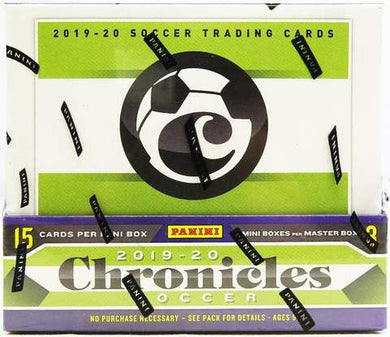 2019-20 Panini Chronicles Soccer Hobby Box