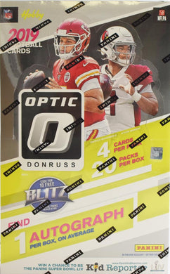 2019 Panini Donruss Optic Football Hobby NFL Box