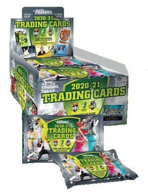 BOX & ALBUM COMBO: 2020-21 TLA Cricket Australia and BBL Trading Cards