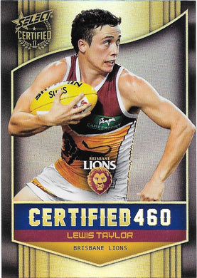 Lewis Taylor, Certified 460, 2017 Select AFL Certified