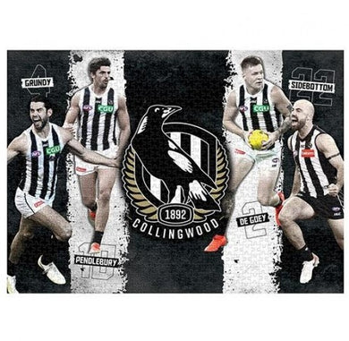 Collingwood Magpies, 4 Player, 1000 Piece Jigsaw Puzzle