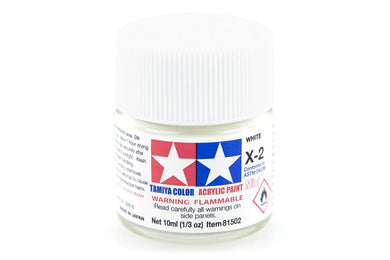 TAMIYA ACRYLIC MINI X-2 WHITE 10ml