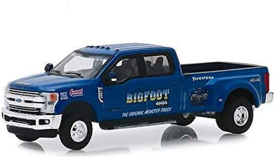 2019 Ford F-350 Lariat, Bigfoot, Dually Drivers, 1:64 Diecast Vehicle