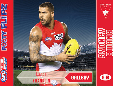Lance Franklin, Footy Flipz Gallery, 2020 Teamcoach AFL