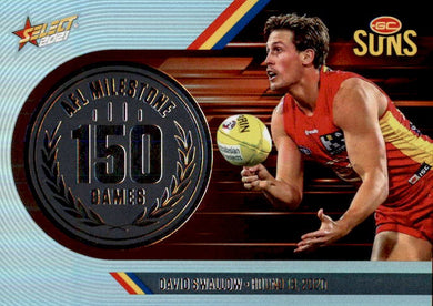 David Swallow, 150 Games Milestone, 2021 Select AFL Footy Stars
