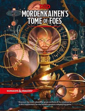 Dungeons and Dragons D&D Mordenkainens Tome of Foes
