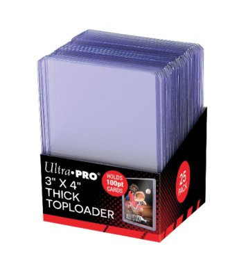 ULTRA PRO Top Loader - 3 x 4 100pt Regular Clear