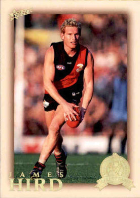 James Hird, HFLE212, Hall of Fame Series 4, Red Back, 2012 Select Eternity AFL