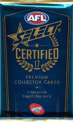 2017 Select Certified AFL Pack