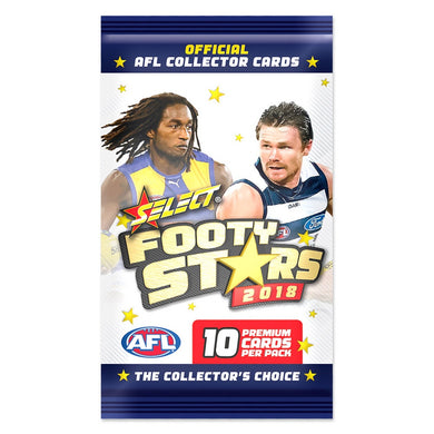 2018 Select AFL Footy Stars Pack