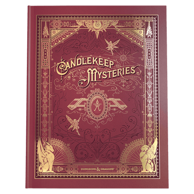 D&D DUNGEONS & DRAGONS Candlekeep Mysteries Book ALT-COVER