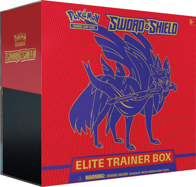 POKEMON TCG Sword and Shield Elite Trainer Box