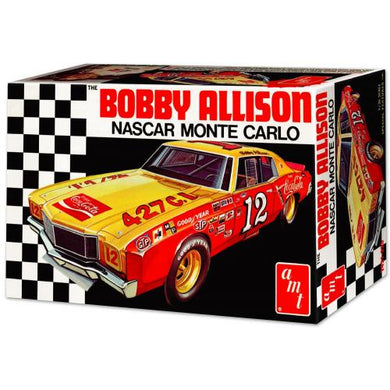 Coca-Cola, Bobby Allison 1972 Monte Carlo Stock Car, 1:25 Scale Model Kit