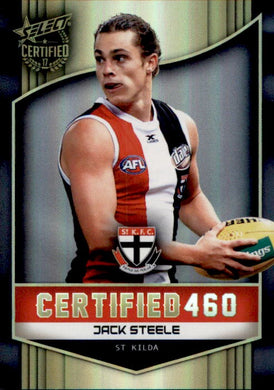 Jack Steele, Certified 460, 2017 Select AFL Certified