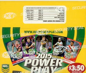 2015 esp NRL Power Play Box of Cards