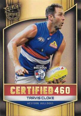 Travis Cloke, Certified 460, 2017 Select AFL Certified