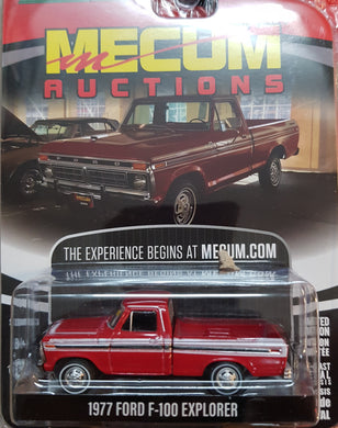 1977 Ford F-100 Meccum Auctions, 1:64 Diecast Vehicle