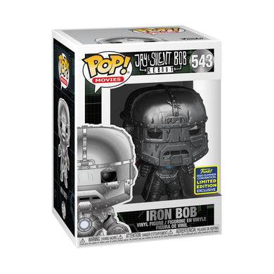 Jay & Silent Bob - Iron Bob SDCC 2020 US Exclusive Pop! Vinyl [RS]