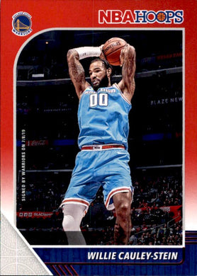 Willie Cauley-Stein, #169, Red Parallel, 2019-20 Panini Hoops Basketball NBA