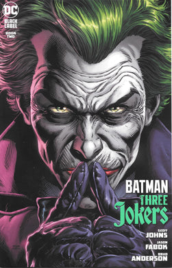 Batman Three Jokers Book Two Comic, Black Label