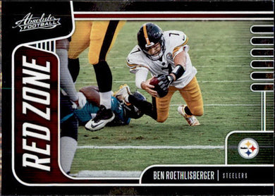 Ben Roethlisberger, Red Zone, 2019 Panini Absolute Football NFL