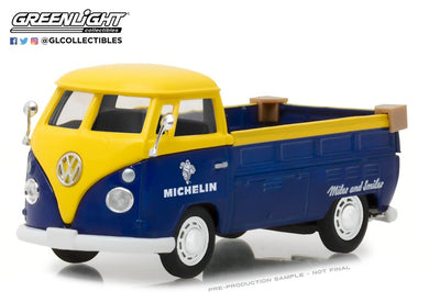 Michelin Tyres, Volkswagen Type 2 (T1) Pickup, Running on Empty Series, 1:43 Diecast Vehicle